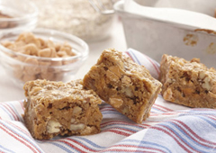 Butterscotch Pecan Crunch Squares