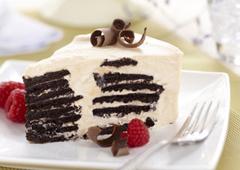 Gâteau froid au caramel