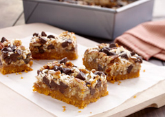 Magic Cookie Bars with Dulce de Leche