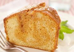 Gâteau danois au tourbillon de caramel