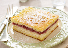 Cream Cheese and Jam French Toast Bake