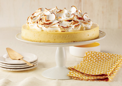 Easy Lemon Meringue Cheesecake