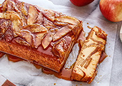 Fall Harvest Apple Flan