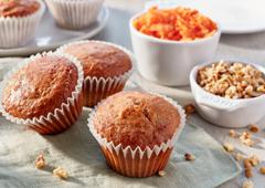 Muffins aux carottes nourrissants