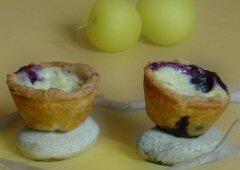 Sunny Lemon Blueberry Tarts
