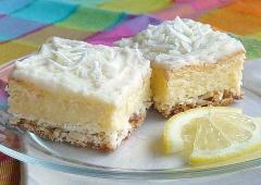 Tartly Frosted Lemon Squares