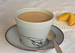 Thé au lait oriental