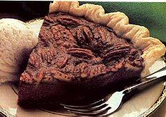 Tarte chocolatée aux pacanes