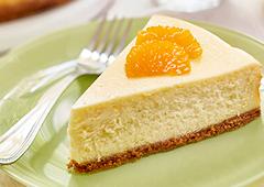 Gâteau au fromage aux agrumes