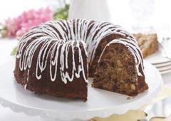Gâteau aux fruits et chocolat fabuleux et rapide