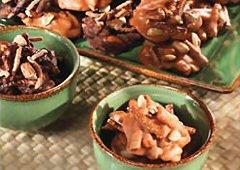 Bouchées croquantes au chow mein
