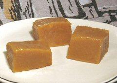 Caramels à la vanille