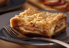 Croustade aux pommes et fromage à la crème