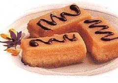 Biscuits sablés au chocolat et au caramel