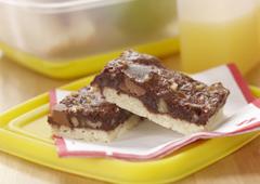 Carrés décadents aux deux chocolats