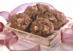 Biscuits décadents aux deux chocolats