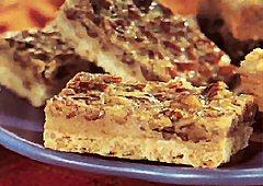 Barres à la tarte aux pacanes