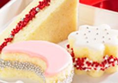 Pound Cake Party Sandwiches