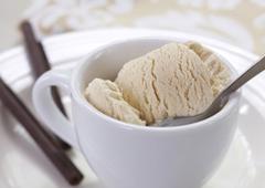Crème glacée au café latté
