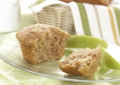 Muffins pommes, avoine et cannelle