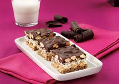 Divins carrés au chocolat noir