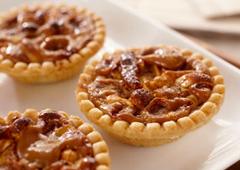 Tartelettes aux noix Dulce de Leche