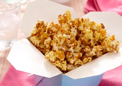 Caramel and Cheese Flavoured Popcorn