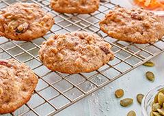 Biscuits du matin aux carottes et aux pommes