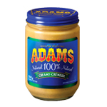 <strong>Adams<sup>®</sup></strong> Natural Creamy Peanut Butter