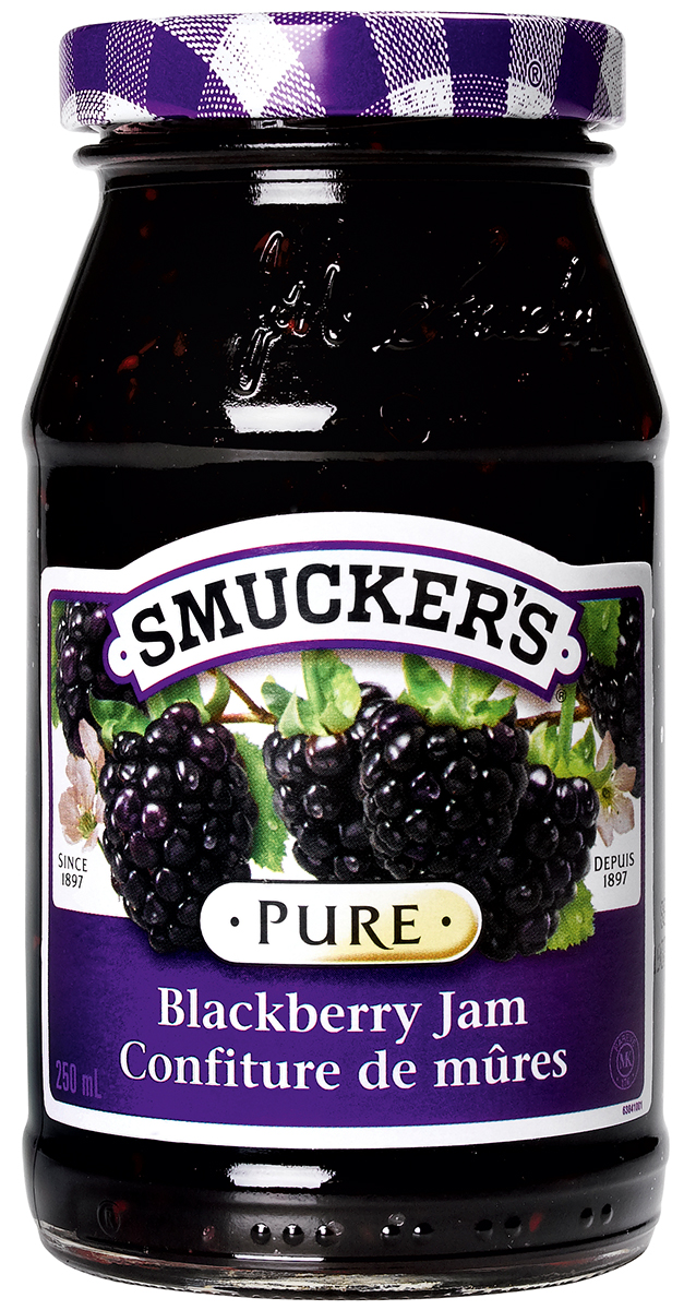 <strong>Smucker's<sup>®</sup></strong> Pure Blackberry Jam