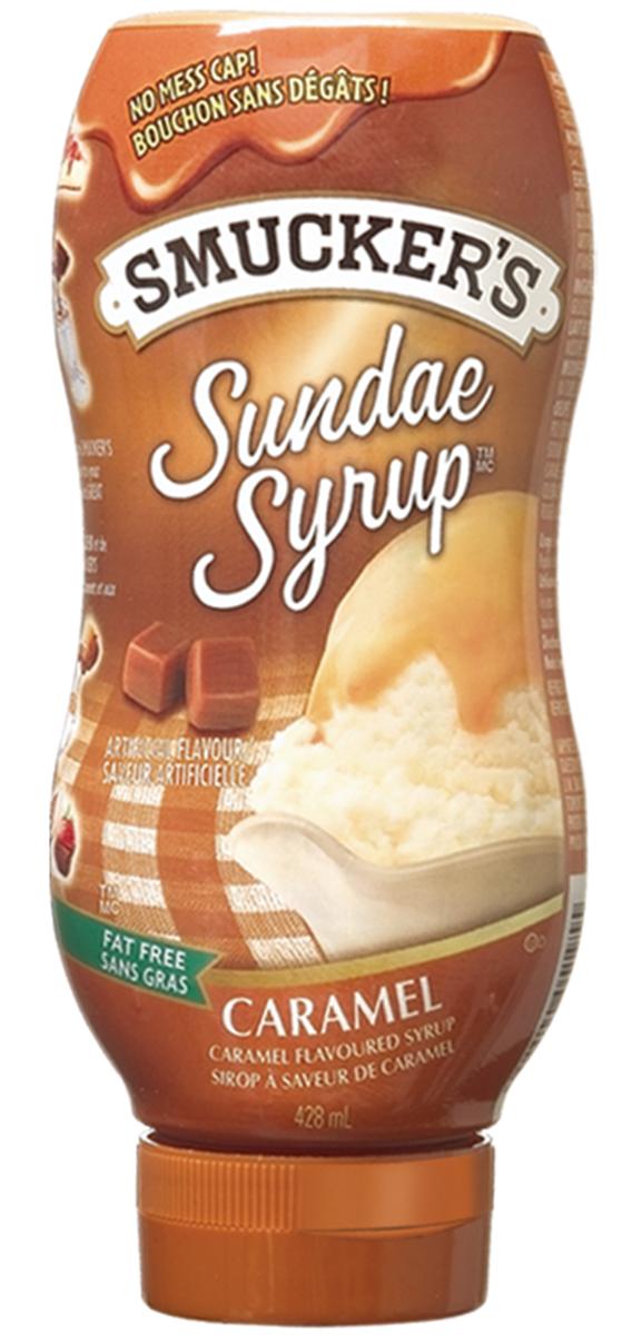 Smucker s® Sundae SyrupTM Caramel Flavoured Syrup