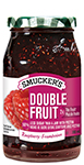 Smucker s® Double Fruit® Raspberry Fruit Spread