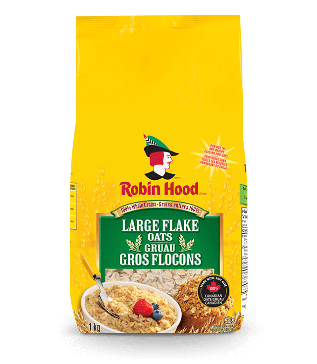 Large Flake Oats |Products | Robin Hood®