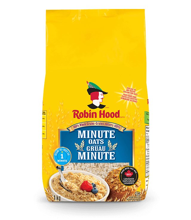 Minute Oats | Baking Products  | Robin Hood®