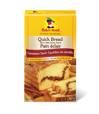 Cinnamon Swirl | Quick Bread Mix  | Robin Hood®