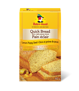 Robin Hood® Quick Bread Mix Lemon Poppy Seed Flavoured