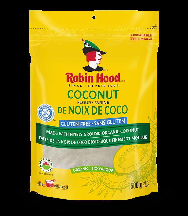 Farine de noix de coco biologique Robin Hood® sans gluten