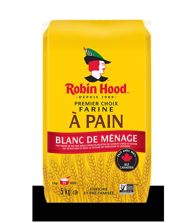 Farine à pain Premier choix blanc de ménage RobinHood®