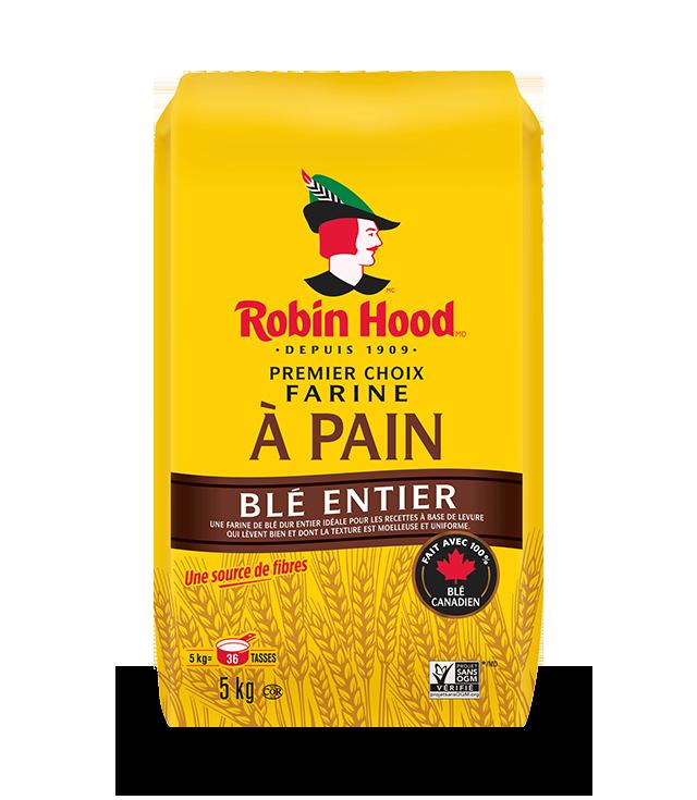 Farine à pain de blé entier Premier choix RobinHood®