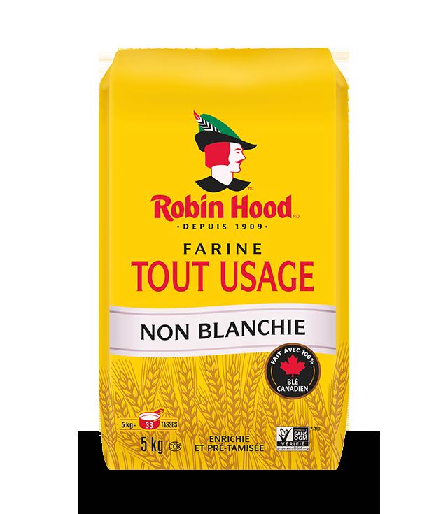 Farine non blanchie tout usage RobinHood®