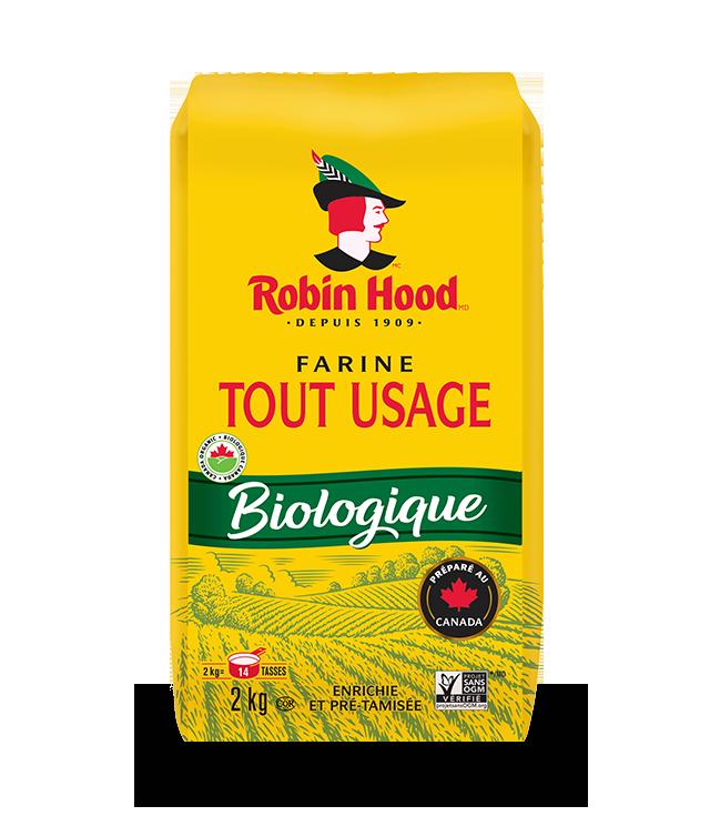 Farine tout usage Biologique RobinHood® (Non-blanchie)