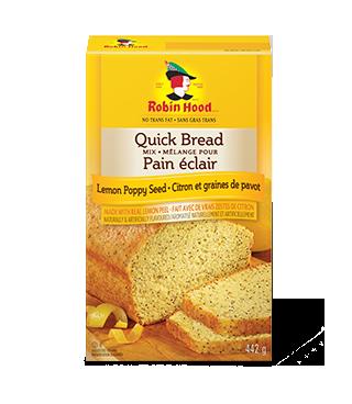 Mélange pour pain éclair aromatisé au citron et graines de pavot Robin Hood®