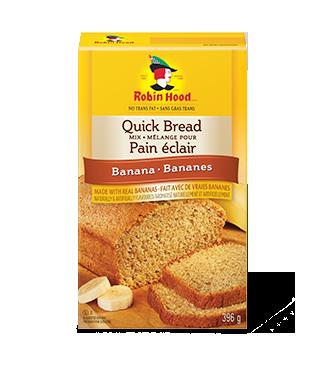 Mélange pour pain éclair aromatisé aux bananes Robin Hood®