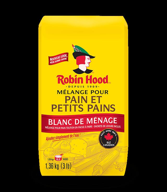 Mélange pour pain et petits pains Robin Hood®