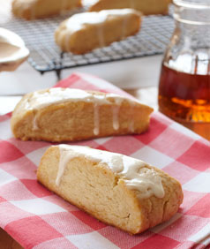 Maple Syrup Scented Scones