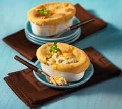 Cheddary Chicken Pot Pie