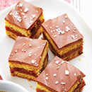 Sweet & Salty Chocolate Caramel Squares