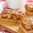 Chewy Butterscotch Cashew Bars