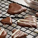 Glazed Chocolate Hearts