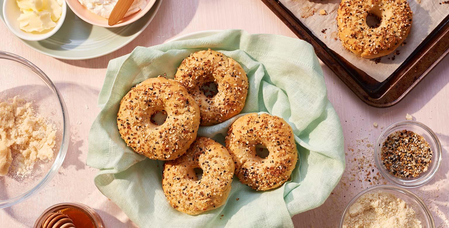 Almond Flour Bagels